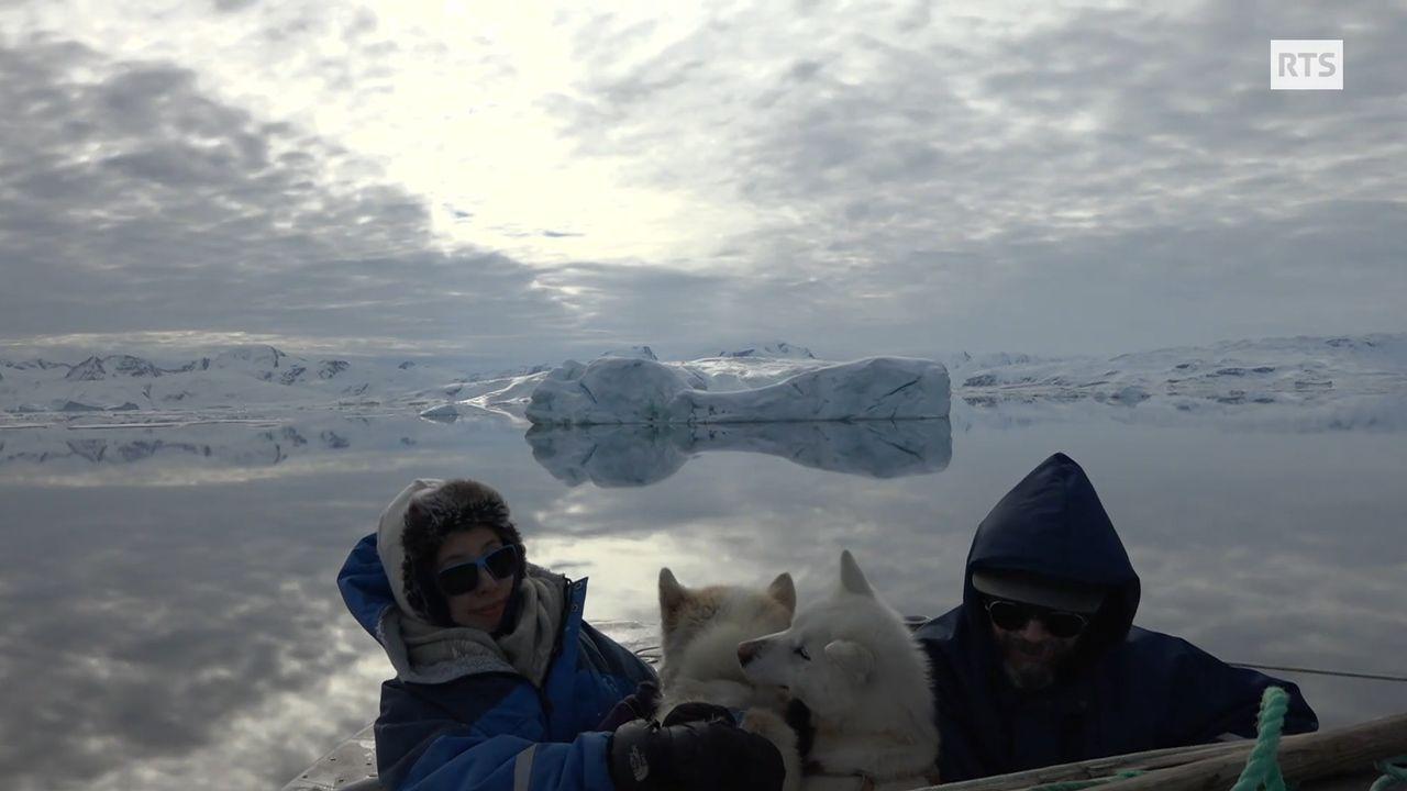 Au Groenland, le réchauffement fait des heureux [RTS]