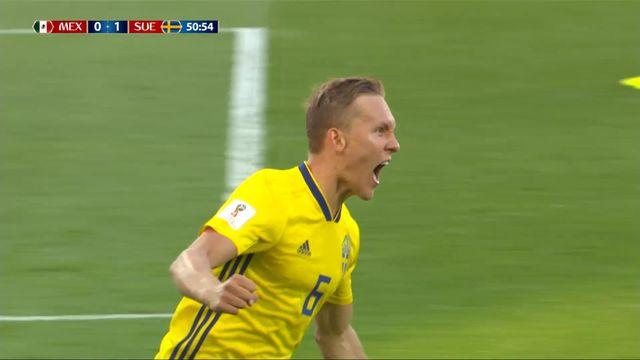 Gr. F, Mexique - Suède 0-1, 50e Ludwig Augustinsson [RTS]
