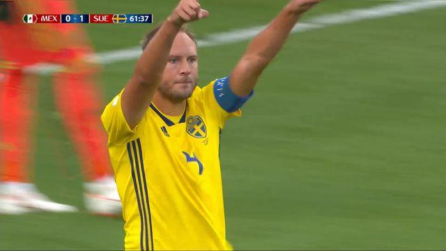 Gr. F, Mexique - Suède (0-2): 50e Andreas Granqvist [RTS]