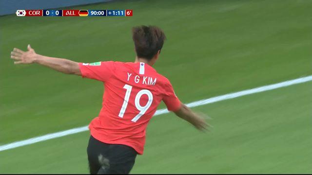 Gr.F, Corée du Sud – Allemagne (1-0): 92e, but accordé à la Corée après consultation du VAR! [RTS]
