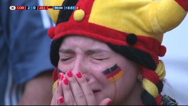 Gr.F, Corée du Sud – Allemagne (2-0): 95e, Son marque dans la cage désertée par Neuer! [RTS]
