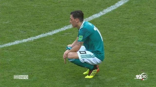 L'Allemagne en état de choc. La Mannschaft est éliminée dès le premier tour de la coupe du monde 2018 [RTS]