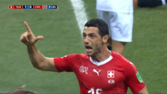 Gr.E, Suisse - Costa Rica 1-0: 31e, Blerim Dzemaili [RTS]