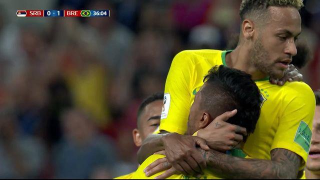 Gr.E, Serbie – Brésil (0-1): 36e, Paulinho [RTS]