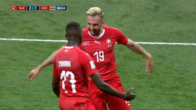 Gr.E, Suisse - Costa Rica 2-1: 88e, Josip Drmic [RTS]