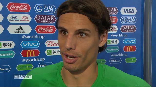 Gr.E, Suisse - Costa Rica 2-2: Yann Sommer à l'interview d'après match [RTS]