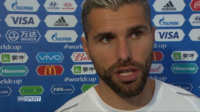 Gr.E, Suisse - Costa Rica 2-2: interview de Valon Behrami [RTS]