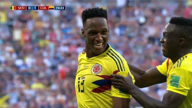 Gr.H, Sénégal – Colombie (0-1): 74e, Yerry Mina [RTS]