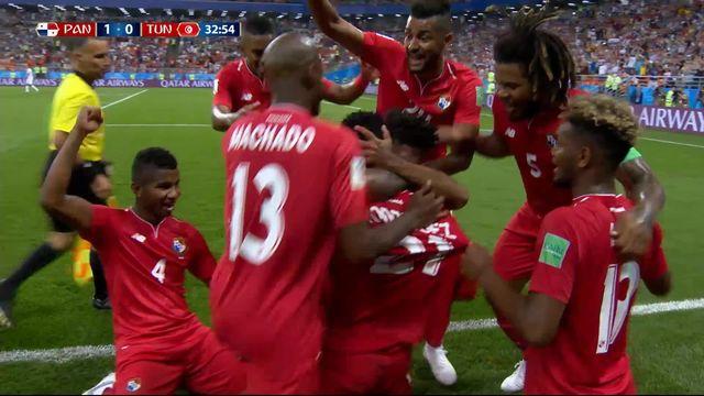 Gr.G, Panama - Tunisise (1-0): 33e, Rodriguez [RTS]