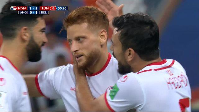 Gr.G, Panama - Tunisie (1-1): 51e, Ben Youssef [RTS]