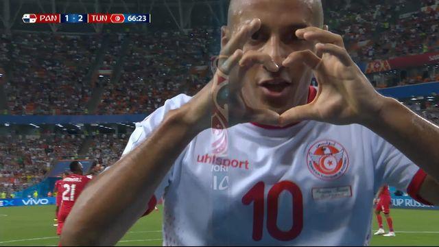 Gr.G, Panama - Tunisie (1-2): 66e, Khazri [RTS]