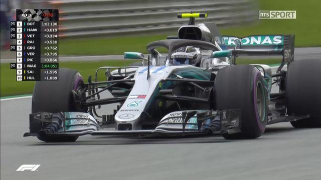 GP d'Autriche, Q3: Bottas (Fin) prend la pole [RTS]