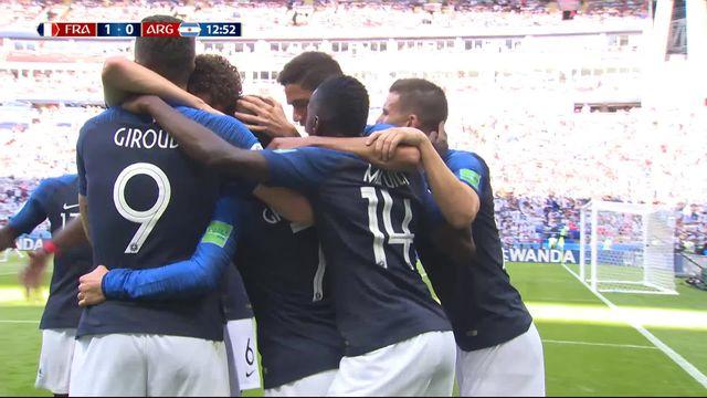 1-8, France – Argentine (1-0) : Griezmann ouvre le score sur penalty [RTS]
