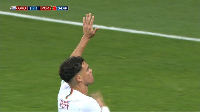 1-8, Uruguay – Portugal (1-1) : 55e, Pepe vient placer sa tête et égalise [RTS]