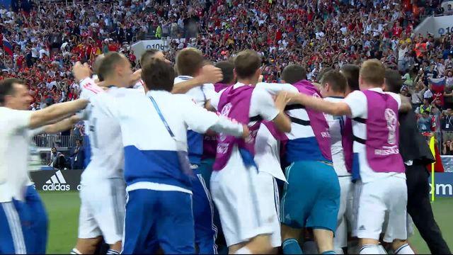 1-8, Espagne– Russie (1-1) : les Russes éliminent l'Espagne aux penalties 4-2 [RTS]