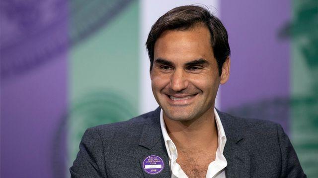 Federer est candidat no1 à sa propre succession à Wimbledon. [Jed Leicester - Keystone]