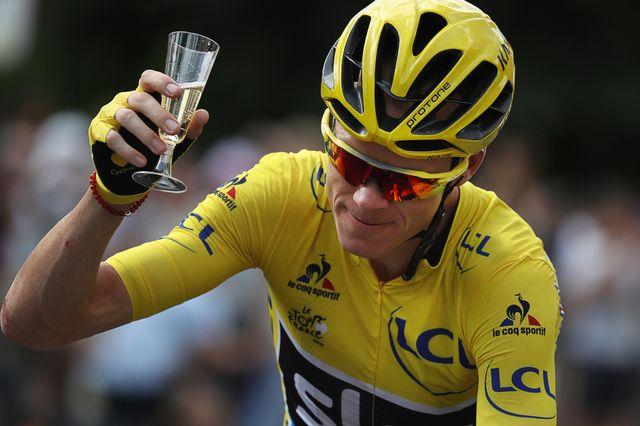Chris Froome pourra prendre le départ du Tour de France samedi. [Keno Tribouillard - Keystone]