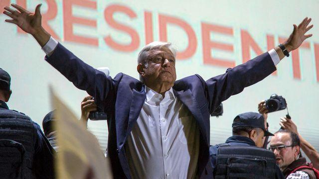 """Andrés Manuel López Obrador a promis un """"changement radical"""" au Mexique. [Anthony Vazquez - AP/Keystone]"""