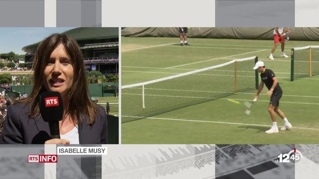 Tournoi de Wimbledon : les explications d'Isabelle Musy [RTS]