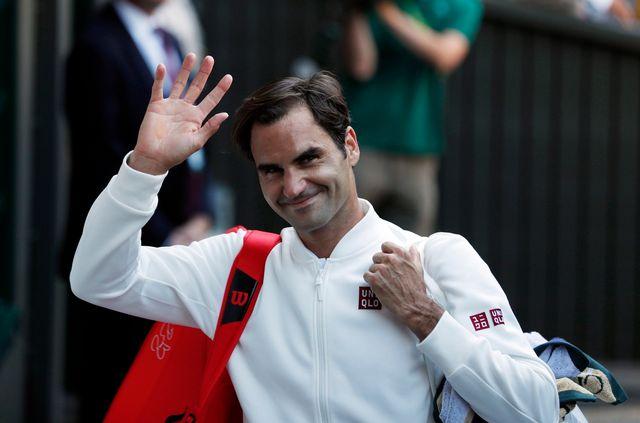Federer n'a pas connu le moindre soucis pour écarter le Serbe. [Nic Bothma - Keystone]