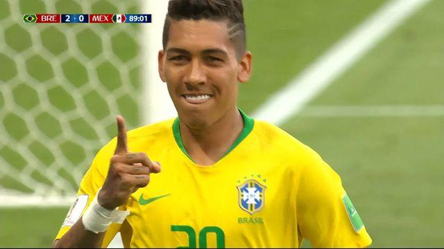 1-8, Brésil – Mexique (2-0): 88e, Firmino [RTS]