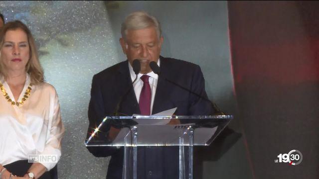 Au Mexique, le candidat de la gauche Lopez Obrador remporte l'élection présidentielle [RTS]
