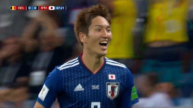 1-8, Belgique – Japon (0-1): 48e, Haraguchi [RTS]