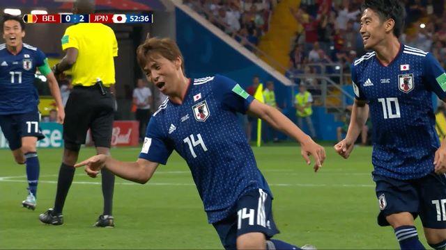 1-8, Belgique – Japon (0-2): 52e, Inui [RTS]