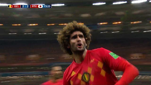 1-8, Belgique – Japon (2-2): 74e, Fellaini [RTS]
