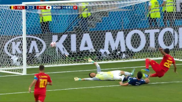 1-8, Belgique – Japon (3-2): 94e, Chadli qualifie la Belgique à la 94e! [RTS]