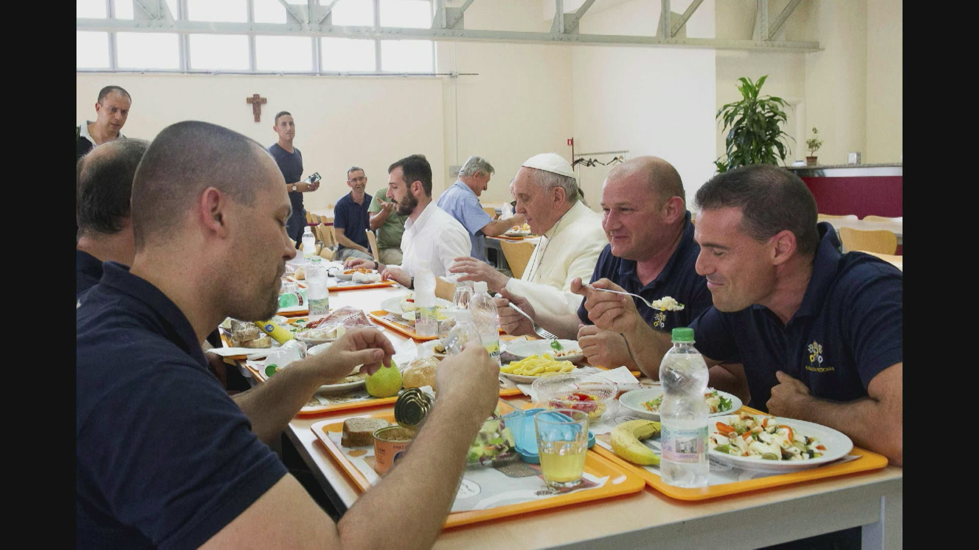 A la table du pape François