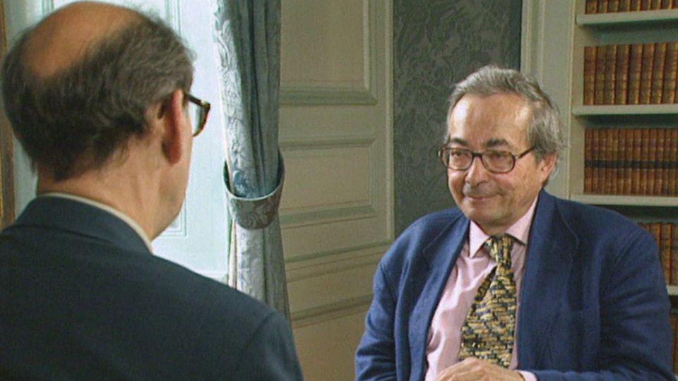 George Steiner en 1998. [RTS]