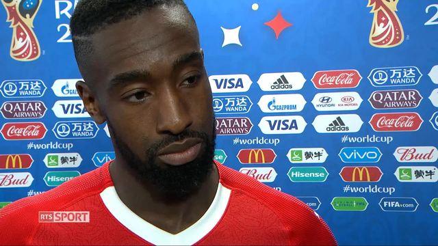 1-8, Suède – Suisse (1-0): la réaction de Djourou après la défaite suisse [RTS]