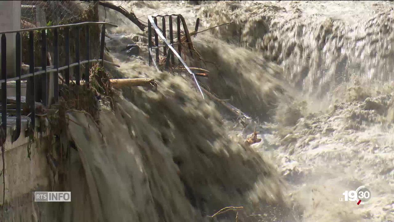 Intempéries au Val d'Anniviers : dégâts très importants [RTS]