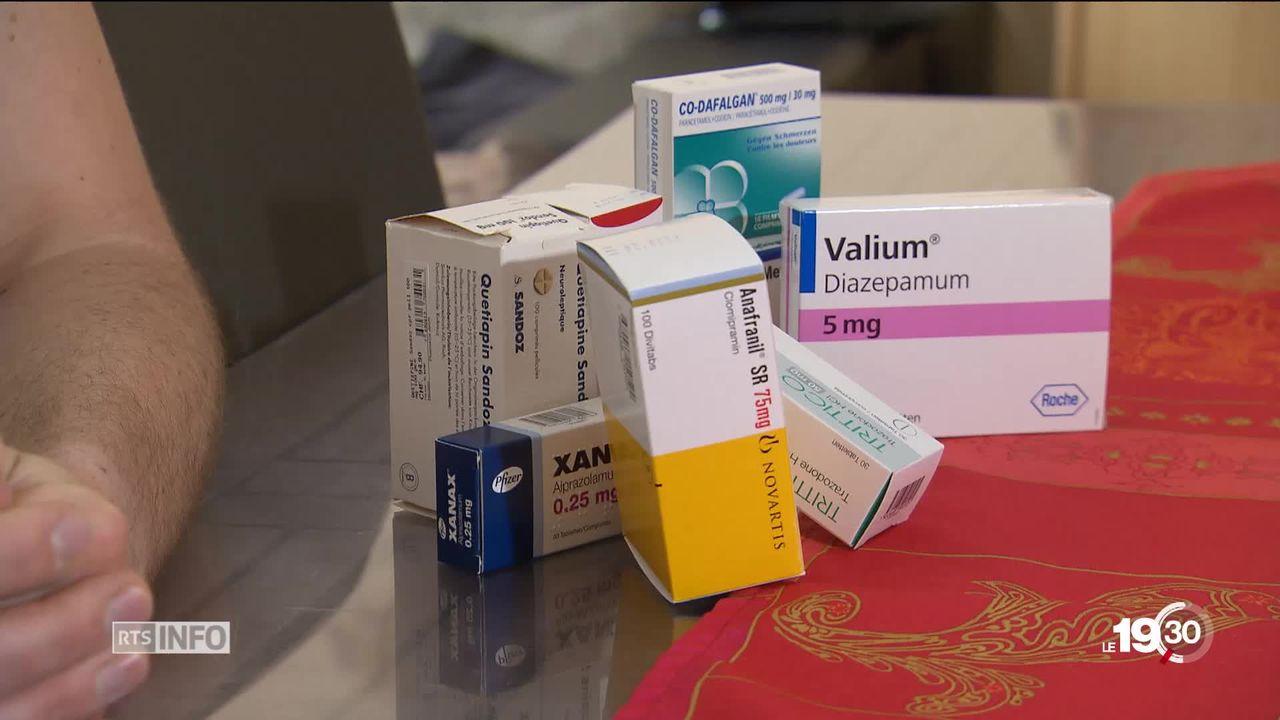 Médicaments antidouleurs : le risque de dépendance [RTS]