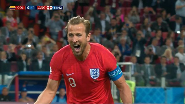 1-8, Colombie – Angleterre (0-1): 58e, Kane (pen) [RTS]