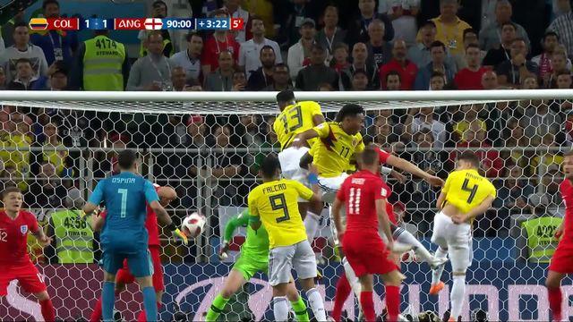 1-8, Colombie – Angleterre (1-1): 93e, Yerry Mina égalise dans les dernières secondes! [RTS]