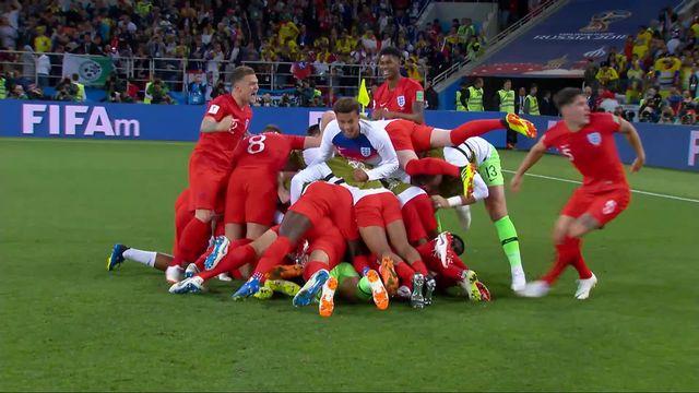 1-8, Colombie – Angleterre (1-1): l'Angleterre se qualifie pour les ¼ aux penaltys! [RTS]