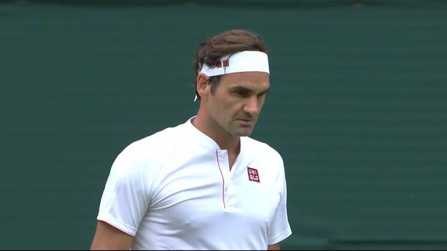 2e tour, R.Federer (SUI) – L.Lacko (SVK) (6-4. 6-4): Federer gagne le deuxième set sur un ace [RTS]