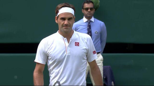2e tour, R.Federer (SUI) – L.Lacko (SVK) (6-4. 6-4, 6-1): Victoire facile pour Federer [RTS]