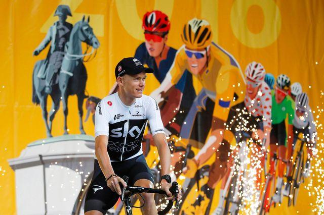 A n'en pas douter, Chris Froome ne sera pas le chouchou du public sur le Tour de France cette année. [Kim Ludbrook - Keystone]