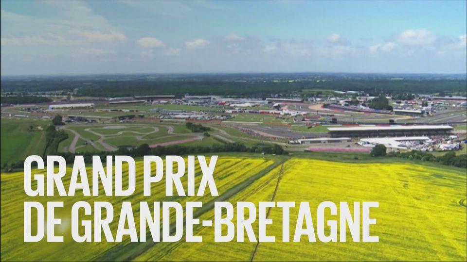 Bande-annonce: Automobilisme F1 Grand Prix de Grande-Bretagne (essais-course) du 7.07-8.07.2018 [RTS]