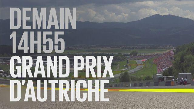 Bande-annonce: Automobilisme F1 Grand Prix d'Autriche du 1.07.2018 [RTS]