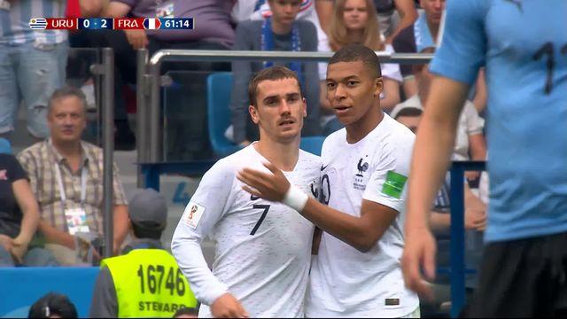 1-4, Uruguay - France (0-2): 61e, Griezmann [RTS]