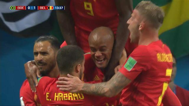 1-4, Brésil - Belgique (0-1): 13e, but contre son camp de Fernandinho [RTS]