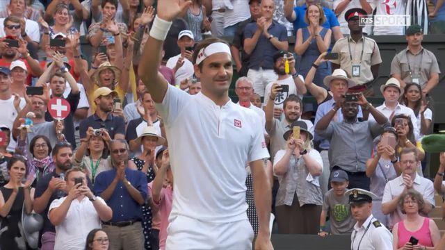 3e tour, R.Federer (SUI) - J-L. Struff (GER) (6-3, 7-5, 6-2): victoire facile pour Federer [RTS]