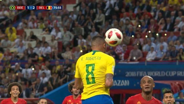 1-4, Brésil - Belgique (1-2): 76e, Augusto [RTS]