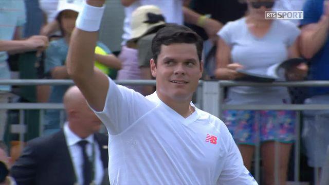 3e tour, D.Novak (AUT) - M.Raonic (CAN) (6-7, 6-4, 5-7, 2-6): le Canadien accède aux quarts de finale [RTS]