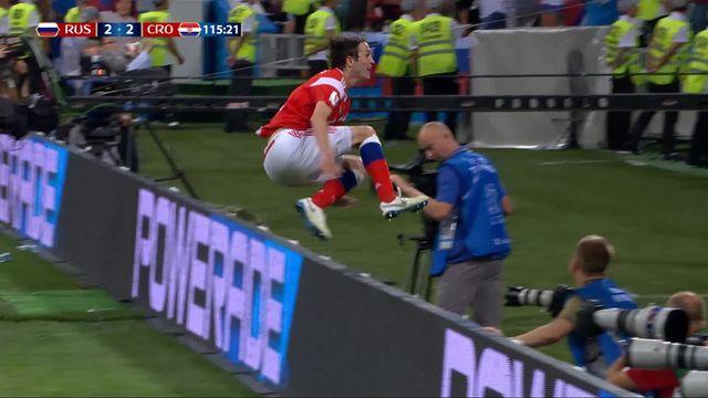 1-4, Russie - Croatie (2-2): 115e, Bruno Fernandes égalise à 5 minutes de la fin des prolongations [RTS]