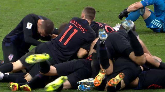 1-4, Russie - Croatie (2-2): la Croatie remporte la séance de tirs au but 4-3 [RTS]